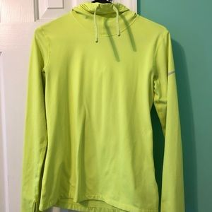 Neon yellow Workout Pullover